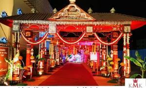 Kerala-theme-wedding-entrance